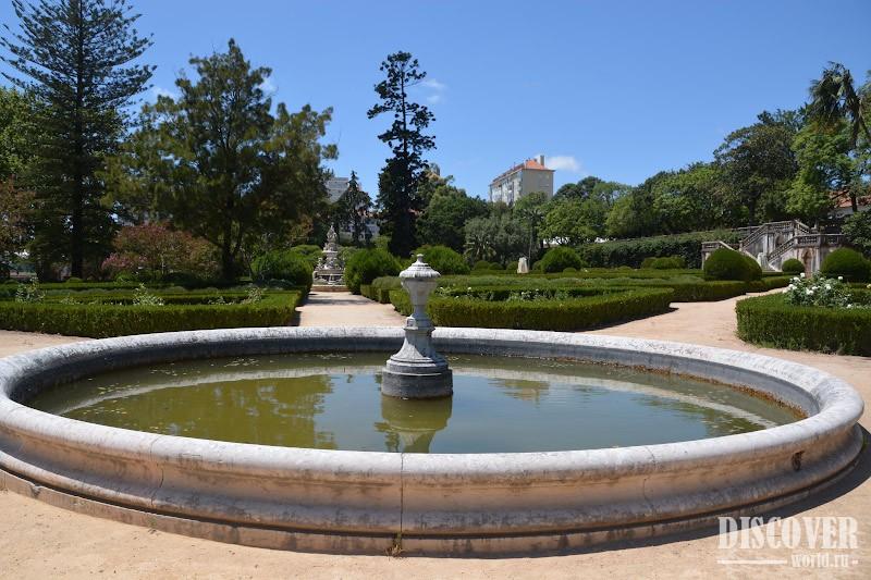 Ботанический сад Лиссабона в разное время года - Мир не тесен   533x800